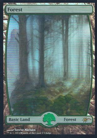 Forest (Full Art Nielsen Judge Promo)