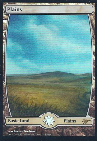 Plains (Full Art Nielsen Judge Promo)
