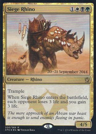 Siege Rhino (Pre Release)