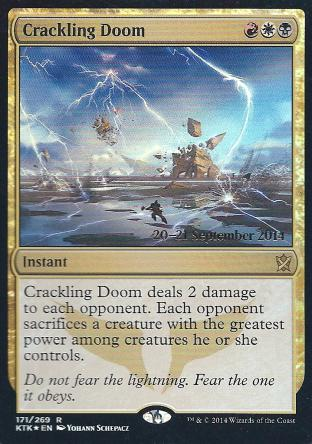 Crackling Doom ( Prerelease)
