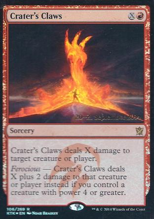 Crater s Claws ( Prerelease)