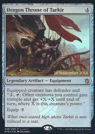 Dragon Throne of Tarkir ( Prerelease)