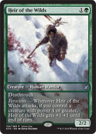 Heir of the Wilds (Full Art Gameday)