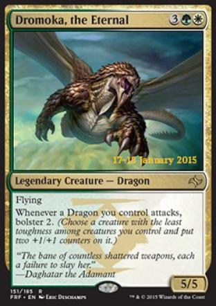 Dromoka the Eternal (Prerelease Promo)