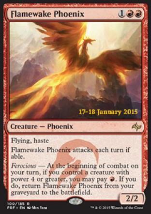 Flamewake Phoenix (Prerelease Promo)