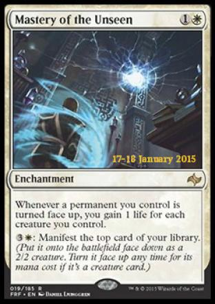 Mastery of the Unseen (Prerelease Promo)
