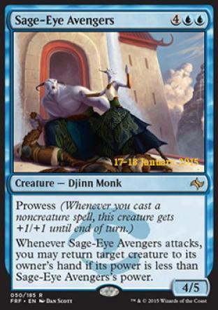 Sage-Eye Avengers (Prerelease Promo)