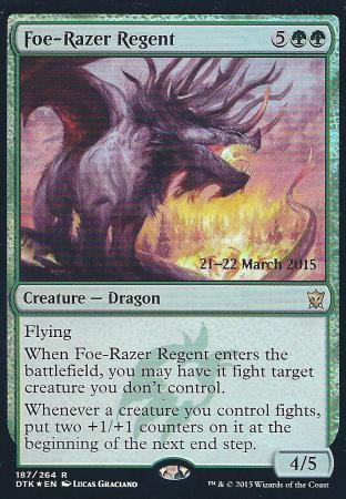 Foe-Razer Regent (DTK Prerelease)