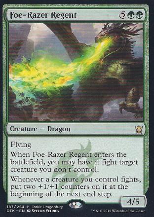 Foe-Razer Regent (Dragonfury)