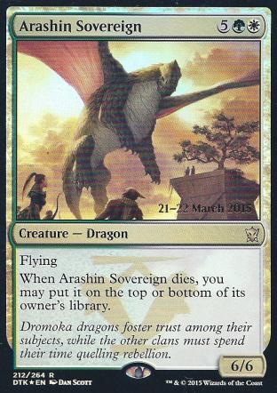 Arashin Sovereign (DTK Prerelease)
