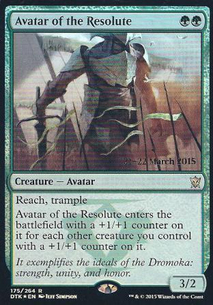 Avatar of the Resolute (DTK Prerelease)