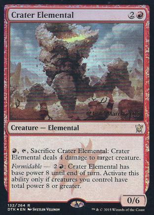Crater Elemental (DTK Prerelease)