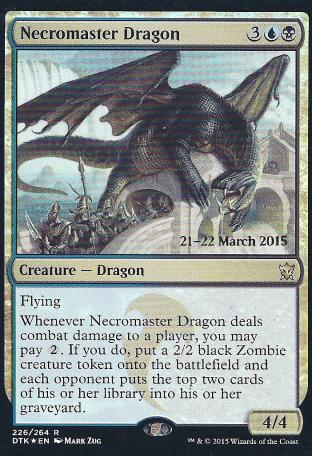 Necromaster Dragon (DTK Prerelease)