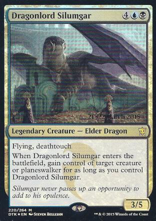 Dragonlord Silumgar (DTK Prerelease)