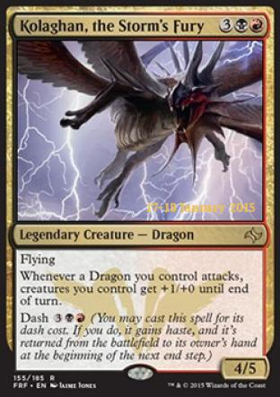 Kolaghan the Storm s Fury (Prerelease Promo)