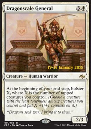 Dragonscale General (Prerelease Promo)
