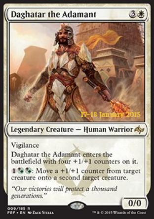 Daghatar the Adamant (Prerelease Promo)