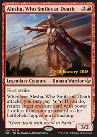 Alesha Who Smiles at Death (Prerelease Promo)