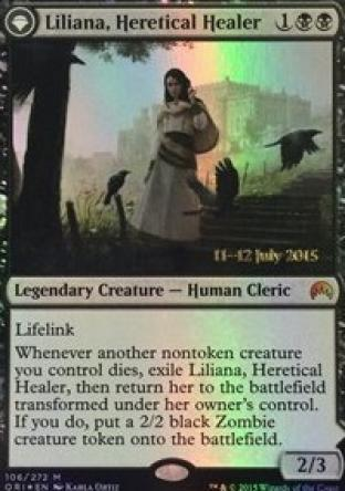 Liliana Heretical Healer (Prerelease Promo)