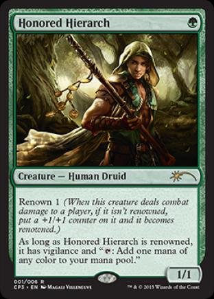 Honored Hierarch (Clash Pack Promo)