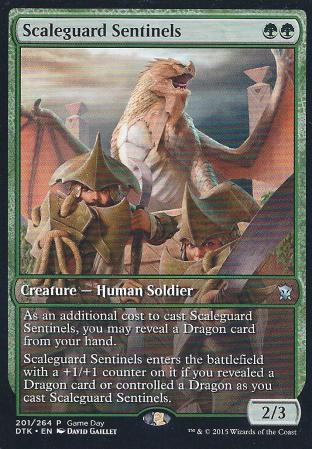 Scaleguard Sentinels (Game Day Full Art)