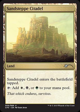 Sandsteppe Citadel (Clash Pack Promo)