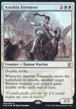 Arashin Foremost (DTK Prerelease)