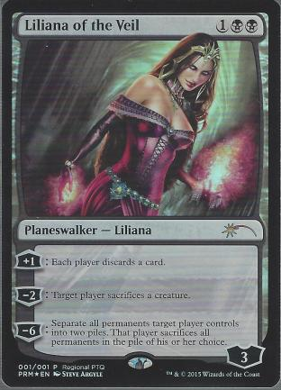 Liliana of the Veil (RPTQ Promo)