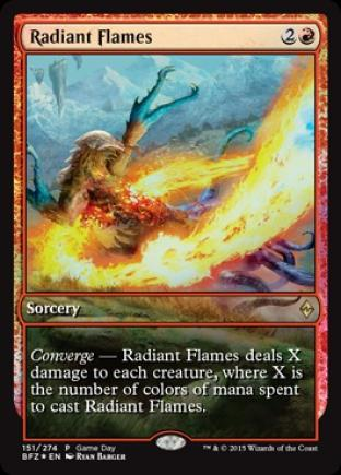Radiant Flames (Full-Art Game Day)