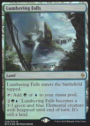 Lumbering Falls (Prerelease)