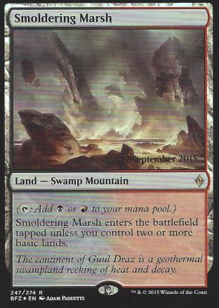 Smoldering Marsh (Prerelease)