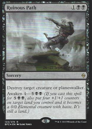 Ruinous Path (Prerelease)
