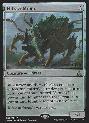 Eldrazi Mimic (Prerelease)