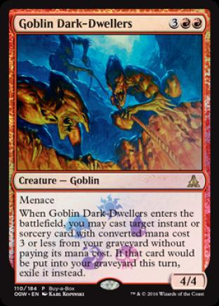 Goblin Dark-Dwellers (Buy a Box)