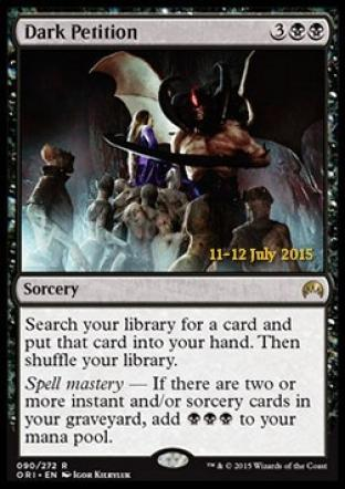 Dark Petition (Prerelease Promo)
