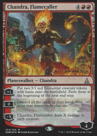Chandra Flamecaller (Prerelease)