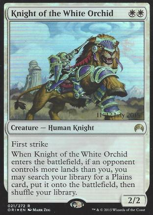 Knight of the White Orchid (Prerelease)