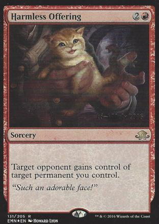 Harmless Offering (Prerelease)