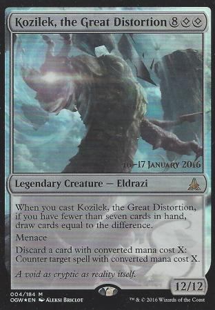 Kozilek the Great Distortion (Prerelease)