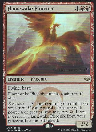 Flamewake Phoenix (Prerelease)