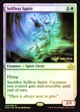 Selfless Spirt (Eldritch Moon Prerelease)