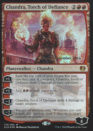Chandra Torch of Defiance (Prerelease)