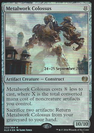 Metalwork Colossus (Prerelease)