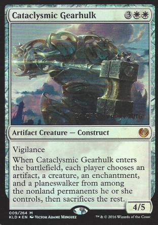 Cataclysmic Gearhulk (Prerelease)