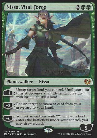 Nissa Vital Force (Prerelease)