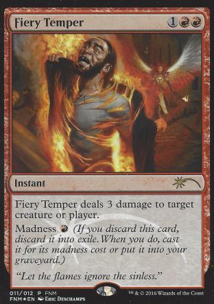 Fiery Temper (FNM)