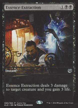Essence Extraction (Game Day)