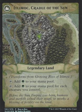 Growing Rites of Ittlimoc (Itlimoc Cradle of the Sun BIBB Alt Art)