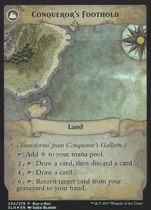 Conqueror s Galleon (Conqueror s Foothold BIBB Alt Art)