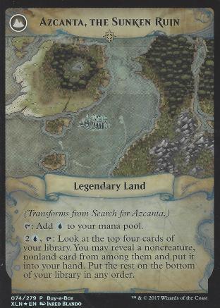 Search for Azcanta (Azcanta the Sunken Ruin BIBB Alt Art)